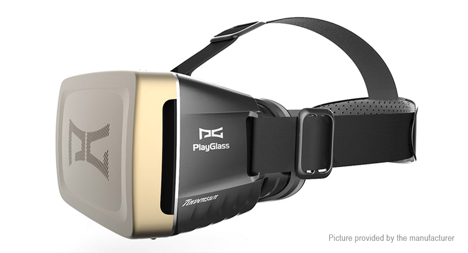 PlayGlass Plus Virtual Reality 3D Video Goggles
