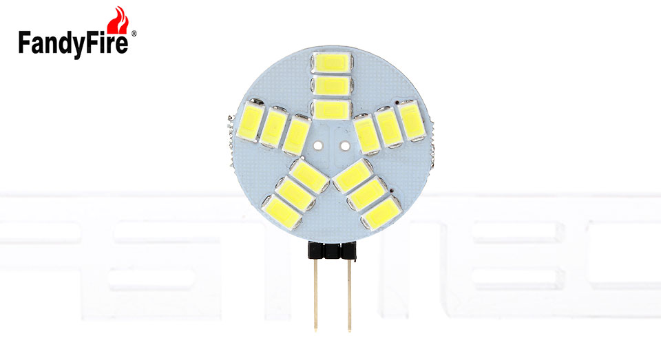 B22 7W LED 56x5730 SMD 700LM 6500K White Light Clear Cover Candle Bulb Lamp (AC 220V~240V) 3204
