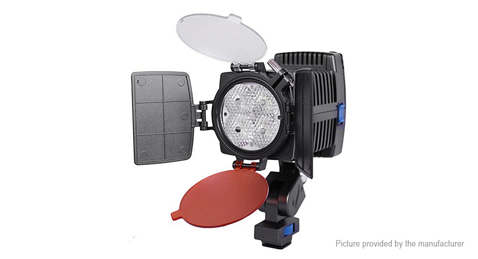 Image of 12W 4*LED 650LM LED Video Light for DV Camcorder / Camera