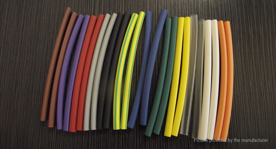 Woer Heat Shrink Tube Sleeving Set (144 Pieces / 6 Sizes)