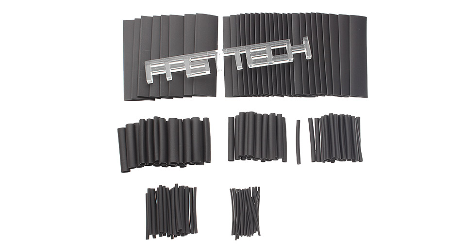 Woer Heat Shrink Tube Sleeving Set (150 Pieces / 8 Sizes)
