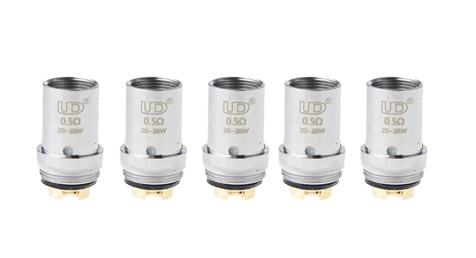 Image of Authentic Youde UD Rosary Tank Clearomizer Replacement MVOCC Coil Head (5-Pack)
