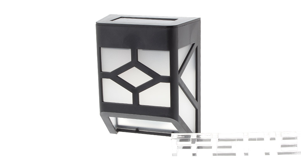 Image of Outdoor Solar Powered LED Wall / Garden Lamp