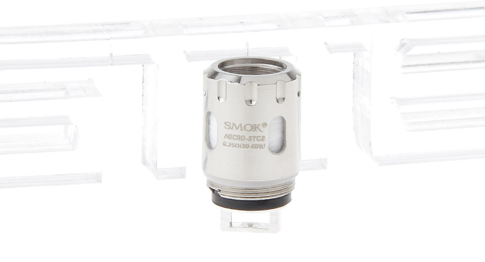 Image of Authentic Smoktech SMOK Micro TFV4 Replacement Micro STC2 Coil Head