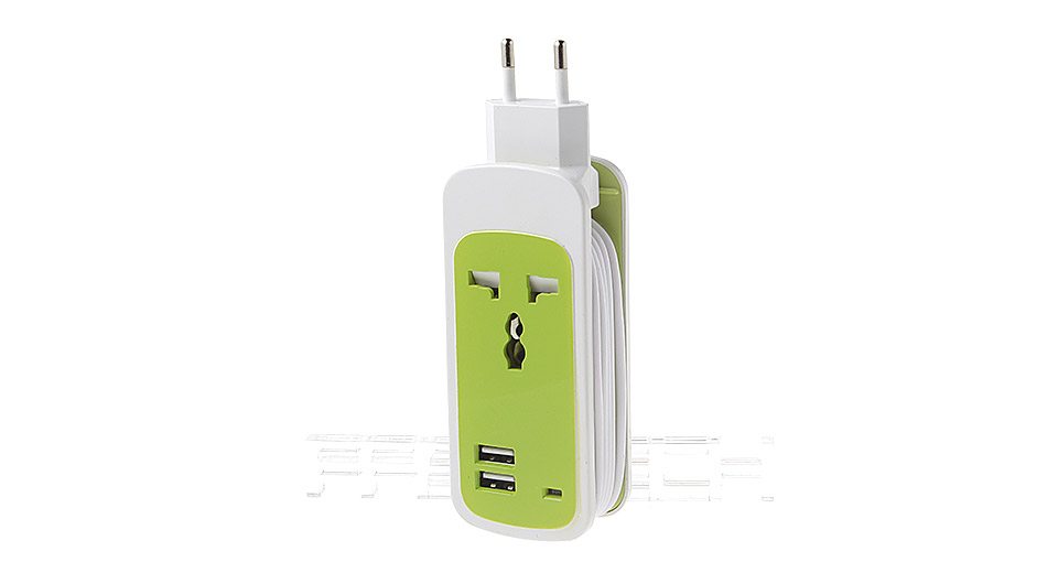 3-in-1 Travel Power Socket