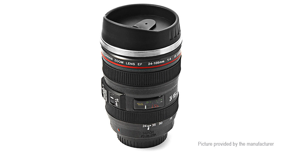 Unique Simulation Dummy Zoom Lens Thermos Mug Cup