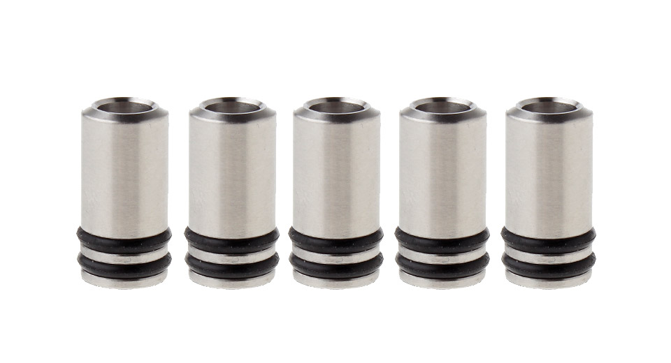 Image of 316 Stainless Steel 510 Drip Tip for Kayfun Mini V3 RTA (5-Pack)