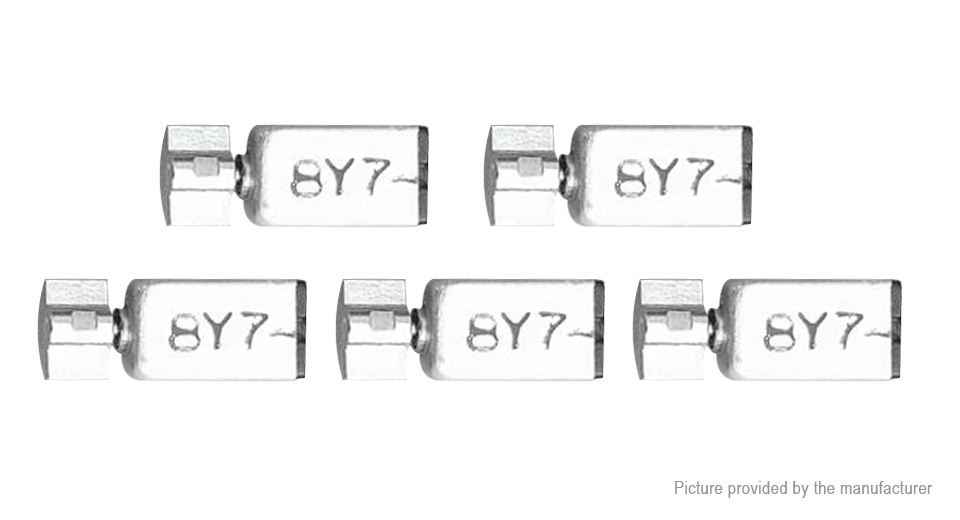 Image of DIY 2V 3200-3800rpm 807 DC Vibration Micro Motor (5-Pack)