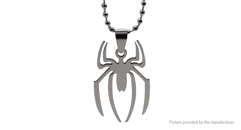 Spiderman Spider Logo Pendant Necklace
