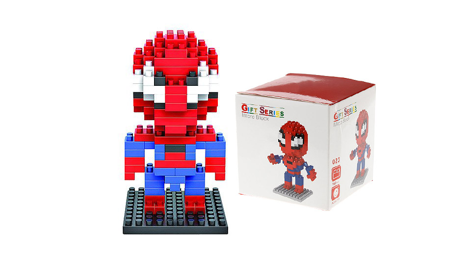 Spider-Man Building Block Educational Toy