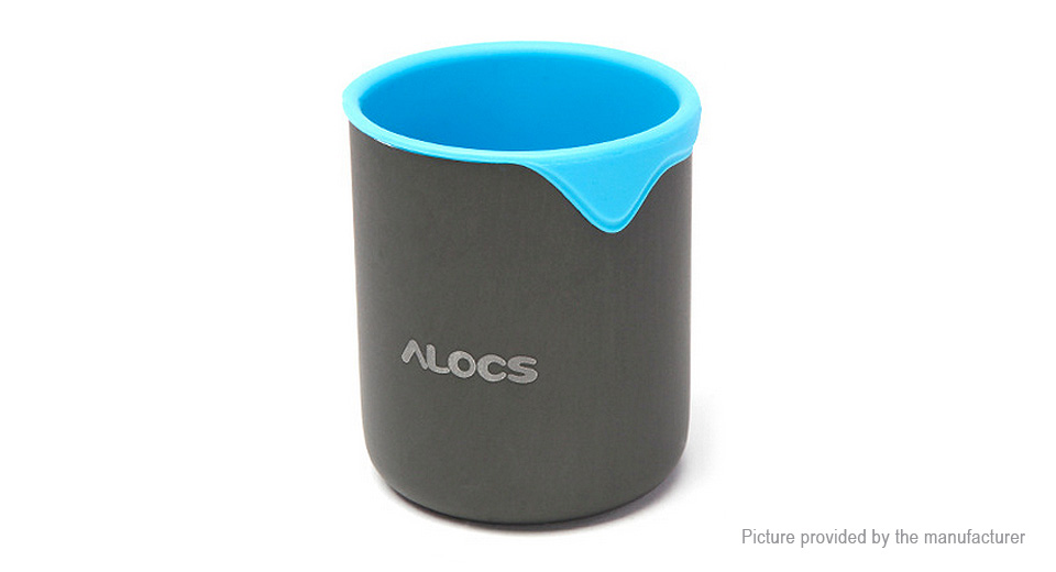 ALOCS TW-406 Outdoor Camping Cup Mug (300ml)