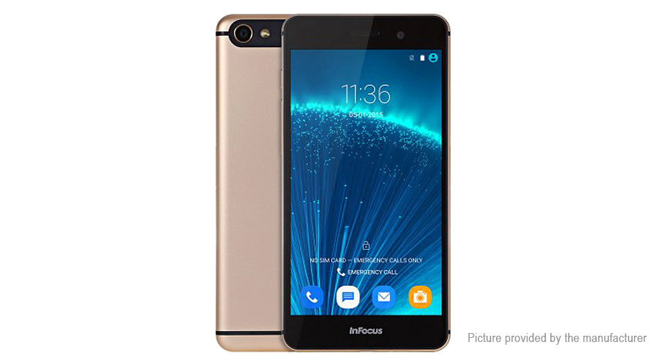 "InFocus M560 5.2"" Lollipop LTE Smartphone (16GB/US)"