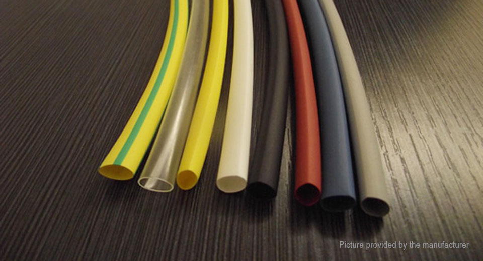 Woer Heat Shrink Tube Sleeving Set (64 Pieces / 8 Sizes)