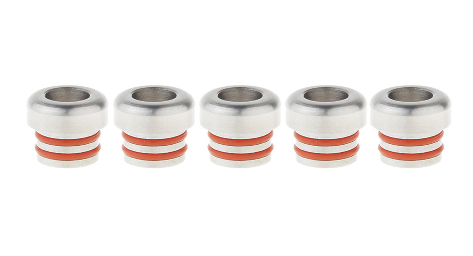 Stainless Steel 510 Drip Tip for Nipple RDA (5-Pack)