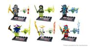 Buy Dargo Ninjago Mini Figure Assemble Toy Set (6-Piece Set) 866A-F, 6-Piece
