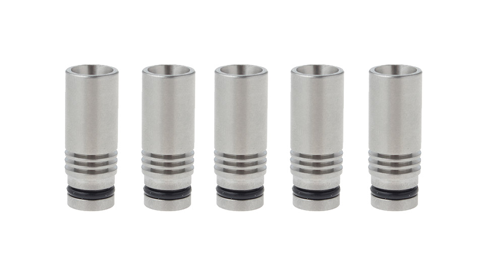 Image of 304 Stainless Steel 510 Drip Tip (5-Pack)