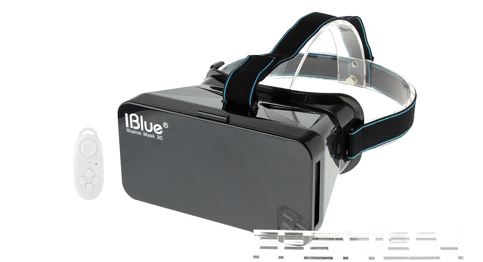 iBlue Virtual Reality VR 3D Video Glasses w/ Bluetooth V3.0 Game Control
