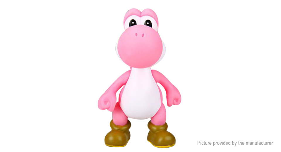 Super Mario Bros Action Yoshi Figure Toy
