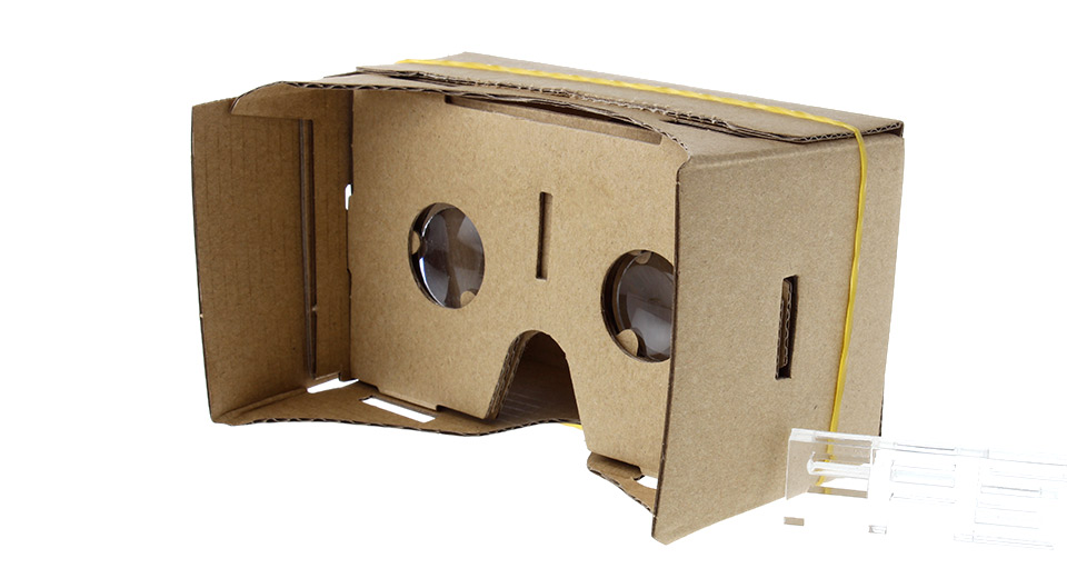 Image of DIY Google Cardboard Virtual Reality VR 3D Glasses