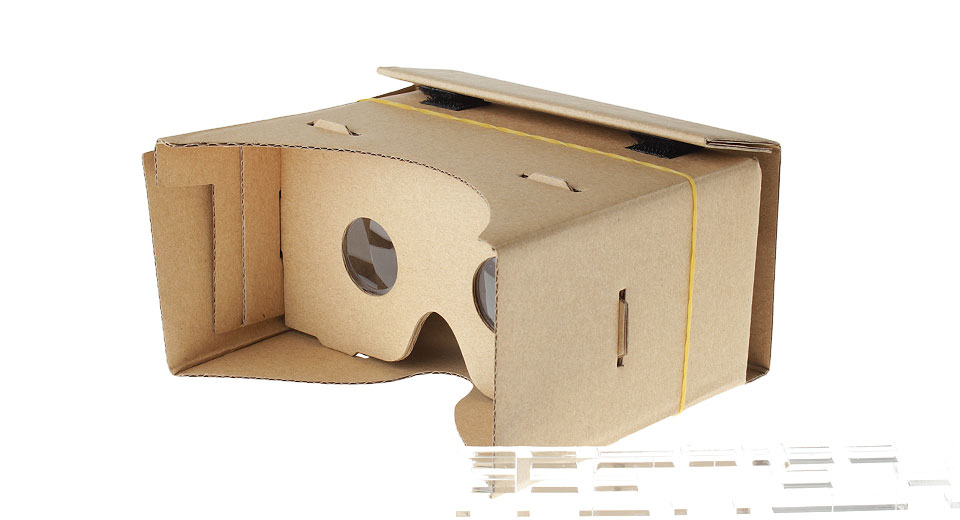 DIY Google Cardboard Virtual Reality VR 3D Goggles