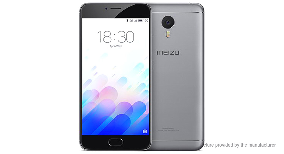 "Authentic MEIZU M3 note 5.5"" LTE Smartphone (32GB/EU)"