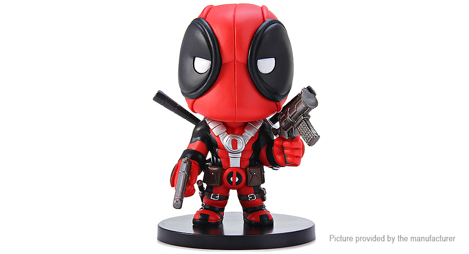 Deadpool Cosplay X Man Comic Anime Figure Model