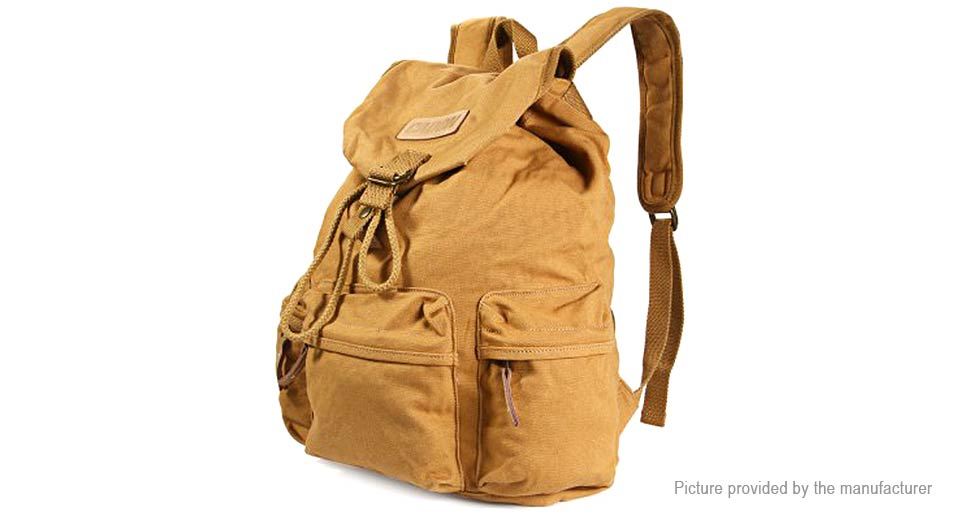Image of Caden F5 Canvas Camera Backpack