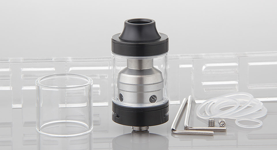Moonshot Styled RDTA Rebuildable Dripping Tank Atomizer