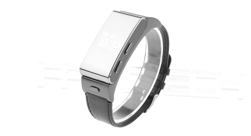 "Image of 0.66"" OLED Touch Screen Smart Wristband + Bluetooth V4.0 Headset"