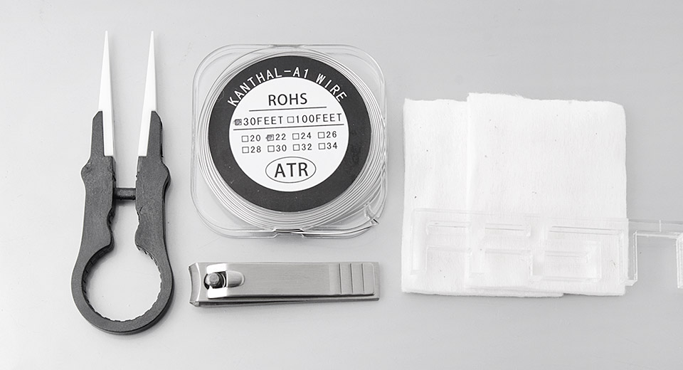 Image of DIY Tool Kit for E-Cigarettes (4 Pieces)