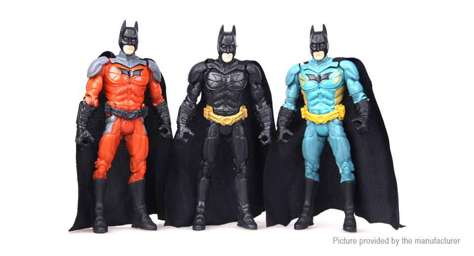 The Dark Knight Rises Batman Figure Doll Toy Set (3-Piece Set)