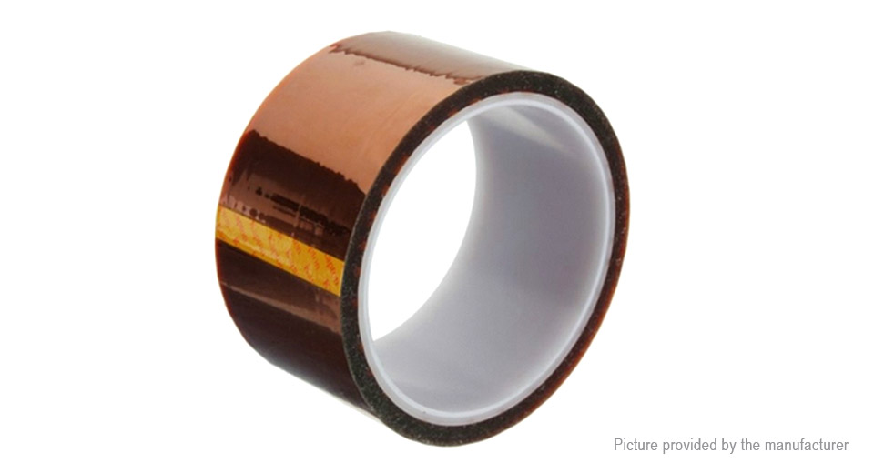 Kapton Polyimide High Temperature Resistant Adhesive Tape (50mm*33m)