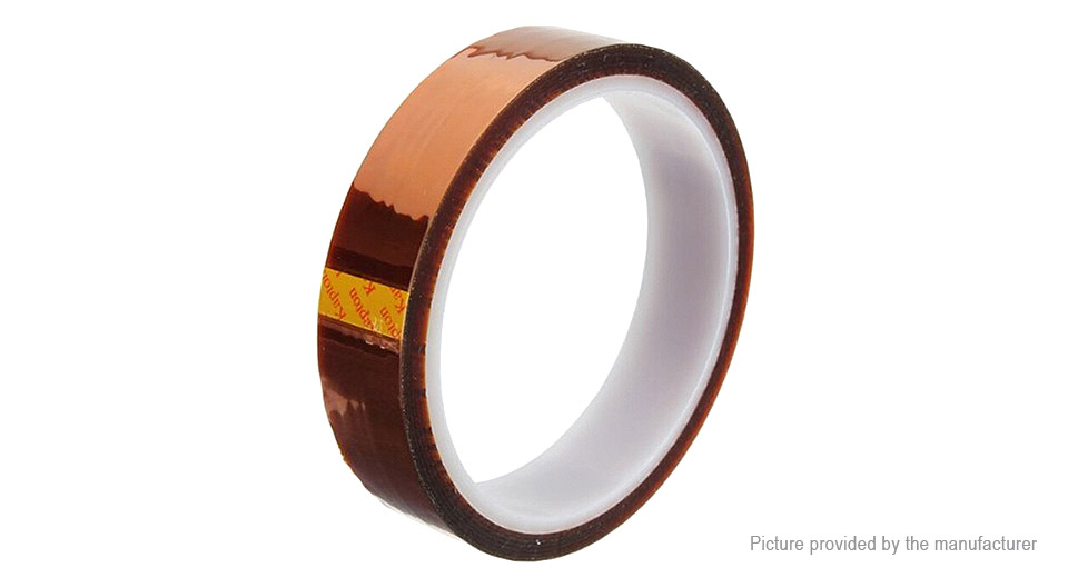 Kapton Polyimide High Temperature Resistant Adhesive Tape (20mm*33m)