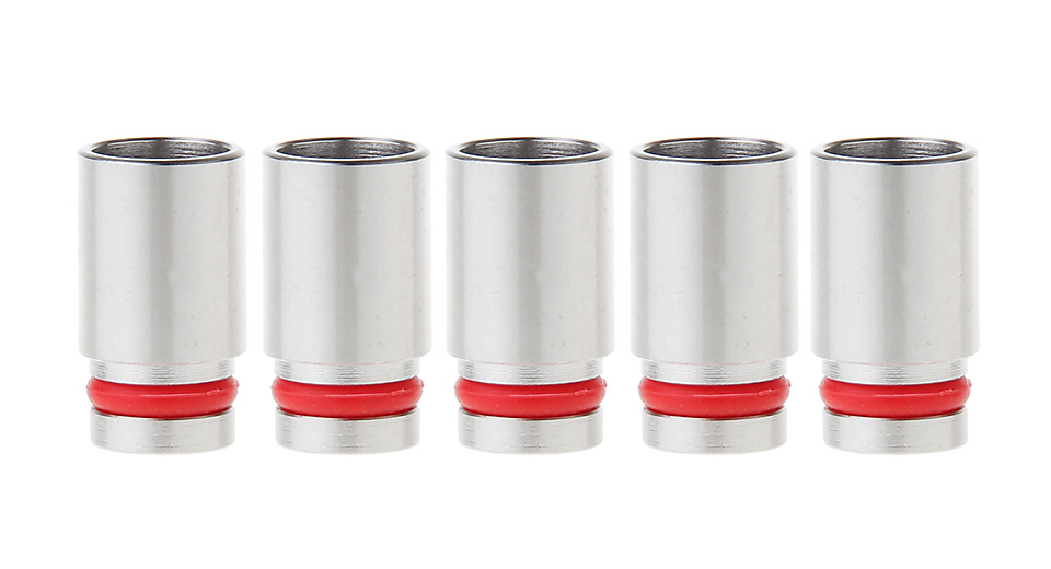 Stainless Steel 510 Drip Tip for KangerTech Toptank Nano Clearomizer (5-Pack)