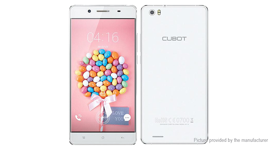 "CUBOT X17S 5"" Quad-Core Lollipop LTE Smartphone (16GB/EU)"