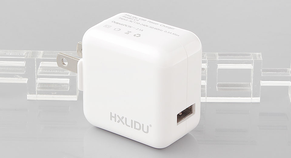 Product Image: hxlidu-c9-single-usb-wall-charger-power-adapter