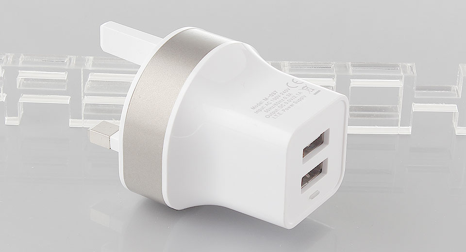 Dual USB Charger Power Adapter