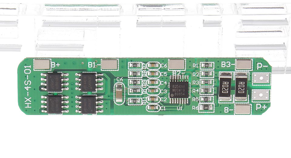 Image of 14.8V Four MOS DIY 4*18650 Batteries Protection Board