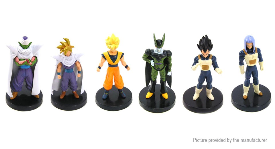 Dragon Ball Z Figure Doll Toy Set (6-Piece Set)