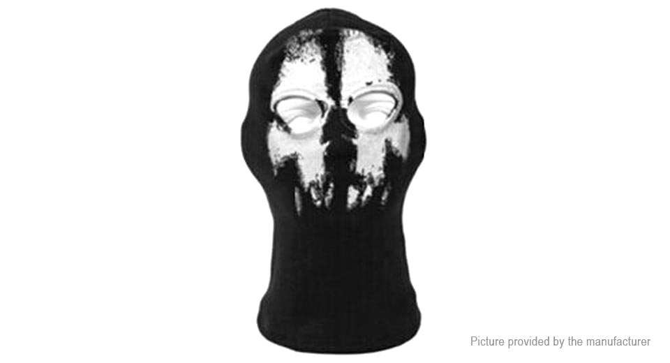 Qinglonglin Ghost Styled Outdoor Sports Balaclava Full Face Mask