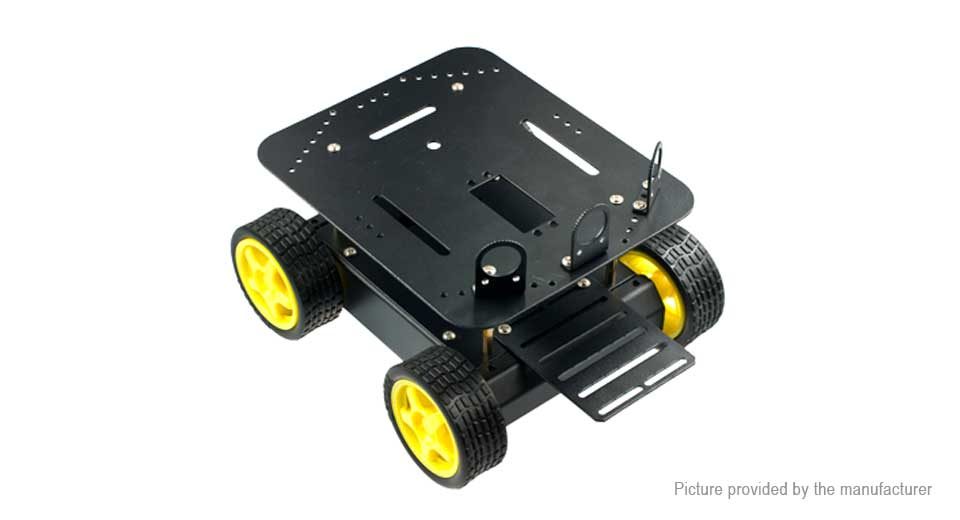 Image of DFRobot Pirate 4WD Mobile Platform for Arduino