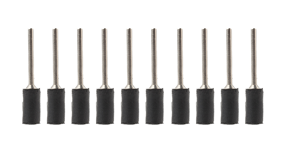 Image of 1/4'' 6.35mm Drum Sanding Band Mandrel for Rotary Tool (10-Pack)