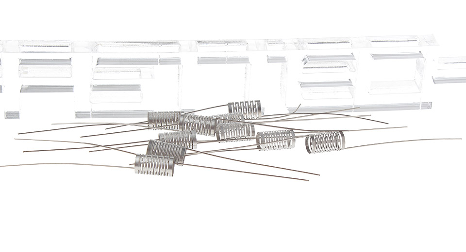 Image of Authentic Hcigar 316L Stainless Steel Notch Coil Wire for RBA Atomizers (10-Pack)