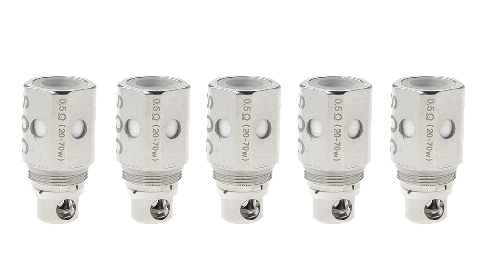 Image of Replacement Coil Head for Pentogon Mini Clearomizer (5-Pack)