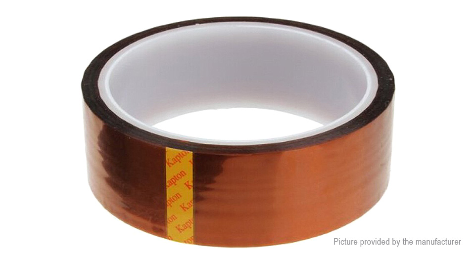 Kapton Polyimide High Temperature Resistant Adhesive Tape (30mm*33m)