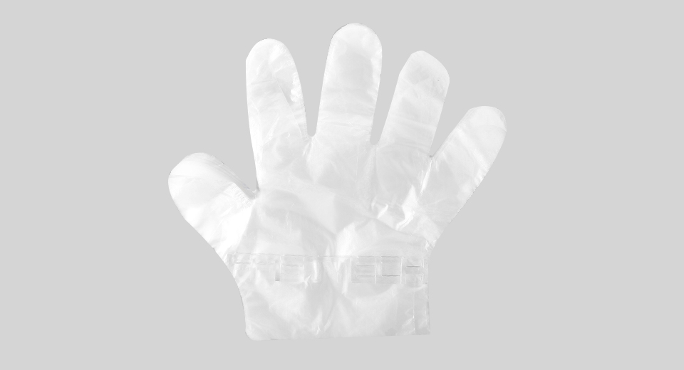 Disposable HDPE Restaurant Home BBQ Cook Service Gloves (100-Pack)
