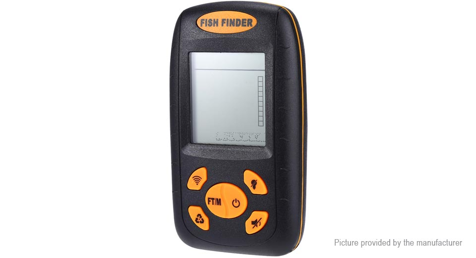 "Image of 2.3"" LCD Portable Sonar Echo Sounder Wireless Fish Finder"