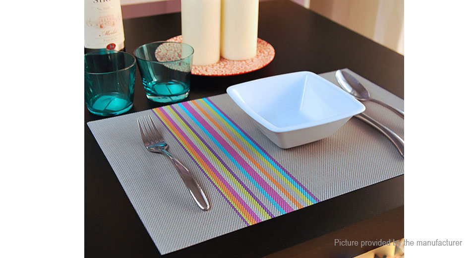 PVC Insulation Anti-skidding Dining Room Placemat