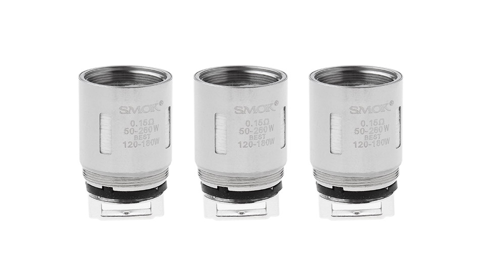 Image of Authentic Smoktech TFV8 Clearomizer Replacement V8-T8 Coil Head (3-Pack)
