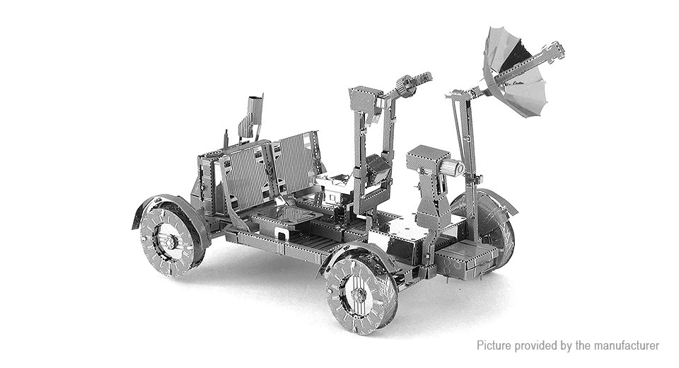 Image of Appollo Lunar Rover 3D Metallic Puzzle Jigsaw Educational Toy